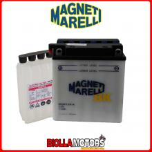 MOB12A-A/SM BATTERIA MAGNETI MARELLI YB12A-A CON ACIDO YB12AA MOTO SCOOTER QUAD CROSS