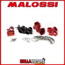 1616722 CORPO FARFALLATO MALOSSI D. 38 YAMAHA T MAX 530 IE 4T LC 2012->2014 (J409E) COMPLETO CON OVALE -