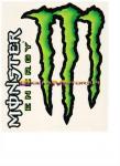 9150 Adesivo Monster Energy 2pz Giganti 19x24 cm