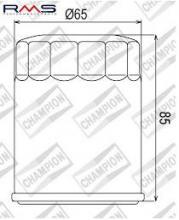 100609685 COF048 FILTRO OLIO MERCURY FourStroke 40 Carb (3 cilindri)0P153500-