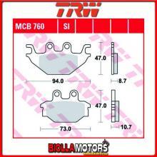 MCB760SI PASTIGLIE FRENO ANTERIORE TRW CECTEK 500 EFI Gladiator 2009- [ORGANICA- ]