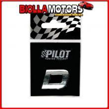 07914 PILOT 3D LETTERS TYPE-1 (18 MM) - D