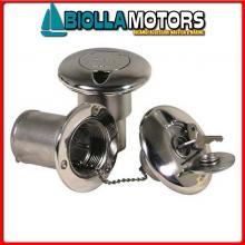 4043090 TAPPO KEY FUEL D38 INOX Tappi di Coperta Key-Lock