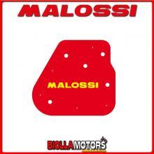 1414044 SPUGNA FILTRO ARIA MALOSSI BENELLI QUATTRONOVEX 50 2T EURO 2 RED SPONGE PER FILTRO ORIGINALE -