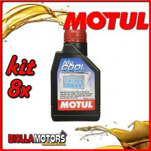 KIT 8X 500ML MOCOOL MOTUL ADDITIVO RADIATORE MOTUL 500 ML - 8x 107798