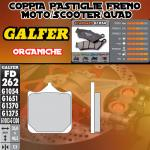 FD262G1054 PASTIGLIE FRENO GALFER ORGANICHE ANTERIORI NORTON COMMANDO 961 CAFE RACER10-