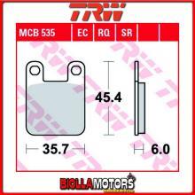 MCB535 PASTIGLIE FRENO ANTERIORE TRW Gas Gas alle Trial Modelle 1992- [ORGANICA- ]
