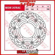 MSW247RAC DISCO FRENO ANTERIORE TRW Yamaha YZF 1000 R1 2004-2006 [FLOTTANTE - CON CONTOUR]