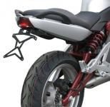 8909996 PORTATARGA MOTO REGOLABILE IN ACCIAIO KAWASAKI ER-6n 650 cc. 2006-2008