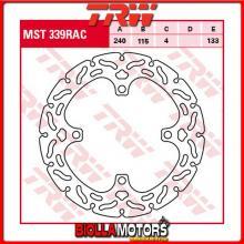MST339RAC DISCO FRENO POSTERIORE TRW Suzuki RM-Z 250 2004-2006 [RIGIDO - CON CONTOUR]
