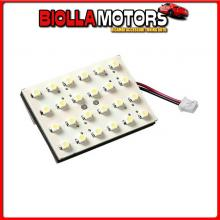 98370 LAMPA 24V HYPER-LED - PANNELLO 24 SMD - 35X50 MM - 1 PZ - D/BLISTER - ROSSO