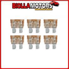 70182 LAMPA SMART LED, SET 6 FUSIBILI LAMELLARI CON SPIA A LED, 12/32V - 7,5A