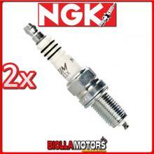 2 CANDELE NGK DCPR8EIX BMW R K27 06 1200CC 2007-2010 DCPR8EIX