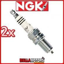 2 CANDELE NGK DCPR8EIX BMW R-ST K28 1200CC 2003-2007 DCPR8EIX