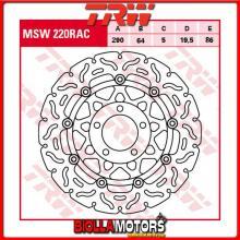 MSW220RAC DISCO FRENO ANTERIORE TRW Suzuki GSX 600 F 1998-2002 [FLOTTANTE - CON CONTOUR]