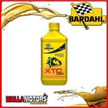 348141 1 LITRO OLIO BARDAHL XTC C60 10W30 LUBRIFICANTE PER MOTO 4T 1LT