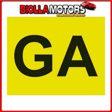 65359 LAMPA CONTRASSEGNO GA (GUIDA ACCOMPAGNATA) - ANTERIORE