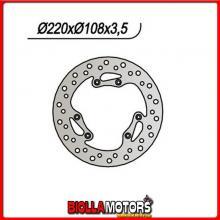 659080 DISCO FRENO ANTERIORE NG MOTOR HISPANIA Furia 50CC 2002 080 2201251084