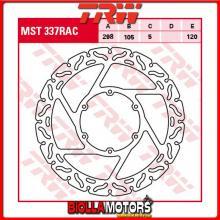 MST337RAC DISCO FRENO ANTERIORE TRW Husqvarna TR 650 Strada,Terra 2012- [RIGIDO - CON CONTOUR]