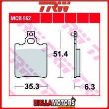 MCB552 PASTIGLIE FRENO POSTERIORE TRW Generic (KSR Moto) TR 50 Trigger SM 2006- [ORGANICA- ]