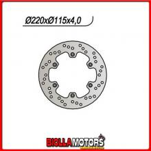 659422 DISCO FRENO POSTERIORE NG YAMAHA DT R LC (3PY) 125CC 1989/1992 422 220/133/115/4/6/6,5 FISSO