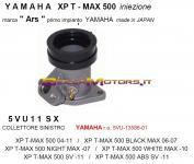 5VU11SX COLLETTORE ASPIRAZIONE SX TMAX IE 04-11