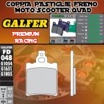 FD048G1651 PASTIGLIE FRENO GALFER PREMIUM ANTERIORI GILERA 250 NGR 87-