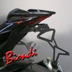 8901025 PORTATARGA MOTO REGOLABILE IN ACCIAIO APRILIA RS 125 cc. 2011