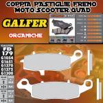 FD179G1054 PASTIGLIE FRENO GALFER ORGANICHE ANTERIORI SUZUKI GSX 750 F VS DER. (KATANA 750 USA) 99-02