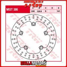 MST386 DISCO FRENO POSTERIORE TRW Suzuki GSF 650 Bandit,SBandit 2007-2008 [RIGIDO - ]