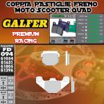 FD094G1651 PASTIGLIE FRENO GALFER PREMIUM ANTERIORI HYOSUNG SUPER CAB PLUS 50 98-