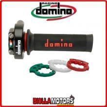 5176.03-02 COMANDO GAS ACCELERATORE XM2 IN BLISTER CON MAN RACING DOMINO DUCATI 848 850CC 08 >