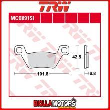 MCB891SI PASTIGLIE FRENO ANTERIORE TRW Kymco 500 MXU i. 2009-2014 [ORGANICA- ]