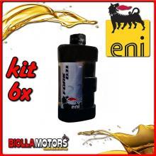 KIT 6X LITRO OLIO ENI FORK OIL 7.5W FORCELLA - 6x E142691