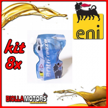 KIT 8X LITRO LIQUIDO RADIATORE ENI ANTIFREEZE READY - 8x E161172