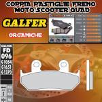 FD096G1054 PASTIGLIE FRENO GALFER ORGANICHE ANTERIORI CAGIVA ELEFANT 906 89-90