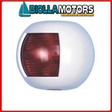 2111800 FANALE NAVIGAZIONE FLAT RED WHITE Fanali (R.I.Na.) Mini Flat White