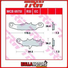 MCB697SI PASTIGLIE FRENO ANTERIORE TRW Kawasaki KX 80 1997-2000 [ORGANICA- ]