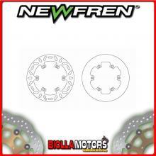 DF5024A DISCO FRENO POSTERIORE NEWFREN KTM EXC 125cc 2010-2015 FISSO