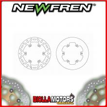 DF5024AP DISCO FRENO POSTERIORE NEWFREN KTM EXC 125cc 2010-2015 FISSO PIENO