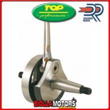 IM07077 ALBERO MOTORE TOP ANTICIPATO PIAGGIO VESPA ET3 125 2T 76-83 Corsa 51mm - Cono 19mm