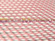 STR-051.45/PI GRIGLIA rosa 30 x 30cm (MAGLIA GRANDE)