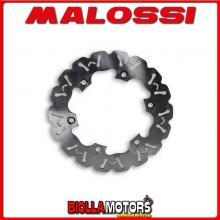 6212343 DISCO FRENO MALOSSI ANTERIORE HONDA FORZA ABS 125 IE 4T LC (JF60E) ESTERNO 256 SPESSORE4,2MM
