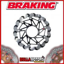BY773R DISCO FRENO ANTERIORE DX BRAKING APRILIA RSV4 FACTORY 1000cc 2009-2011 WAVE FLOTTANTE