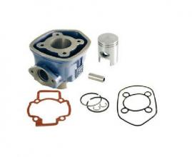 100080091 CYLINDER KIT RMS 50CC D.40 GILERA RUNNER SP 50 2T LC 2006-> (C451M) SP.12 GHISA (5 ANGOLI)