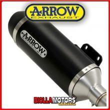 73502ANN TERMINALE ARROW URBAN PIAGGIO MP3 400 LT 2007-2011 DARK/DARK