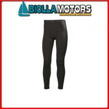 3040520 HH LIFA MERINO PANT 990 BLACK S Calzamaglia HH Lifa Merino Pant