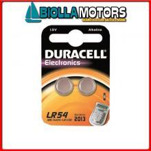 2040010 BATTERIE DURACELL LR54 BLISTER Batterie Duracell LR54