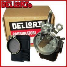 02044 CARBURATORE + FILTRO ARIA DELLORTO SHA 13 13 PIAGGIO GRILLO