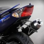 8901011 PORTATARGA MOTO REGOLABILE IN ACCIAIO YAMAHA T-Max-ABS 500 cc. 2008
